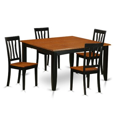 Cheap cheap dining room sets san antonio parfait 5 piece for Cute dining room sets