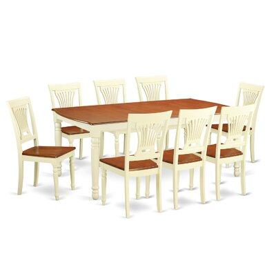 Dover 9 Piece Dining Set