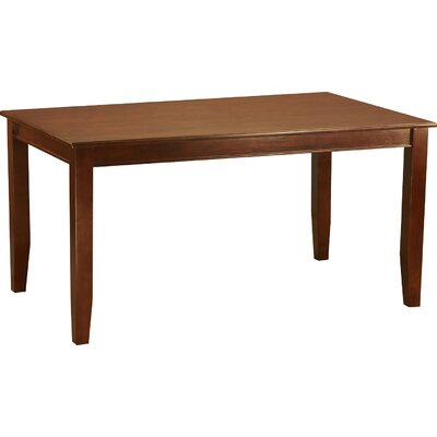 Dudley Dining Table Table Finish: Mahogany