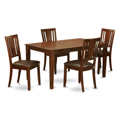 Capri 5 Piece Dining Set