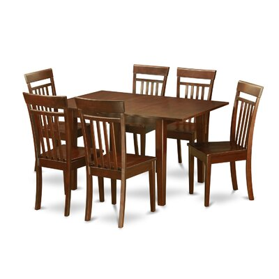 Picasso 7 Piece Dining Set Chair Upholstery: Non-Upholstered Wood