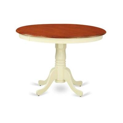 Bonenfant Dining Table Finish: Buttermilk/Cherry