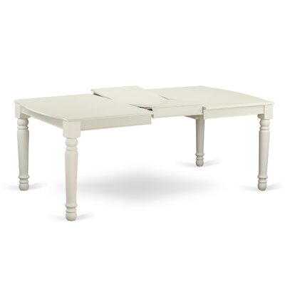 Pimentel Dining Table Finish: Linen White