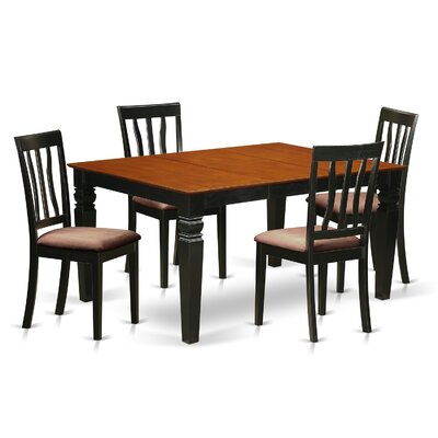 Arbouet 5 Piece Dining Set