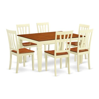 Arends 7 Piece Dining Set Finish: Buttermilk