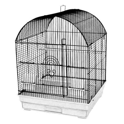 18x18 Round Top Cage Color: Charcoal