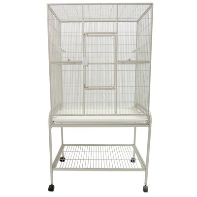 Halpin Bird Cage Color: Platinum