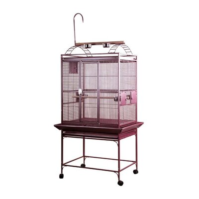 Bayer Large Play Top Bird Cage Color: Pure White