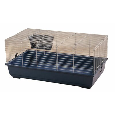 Gus Rabbit Cage Size: 17 H x 31 W x 17 D