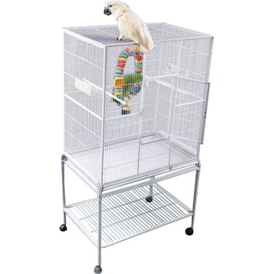 Halpin Bird Cage Color: Pure White
