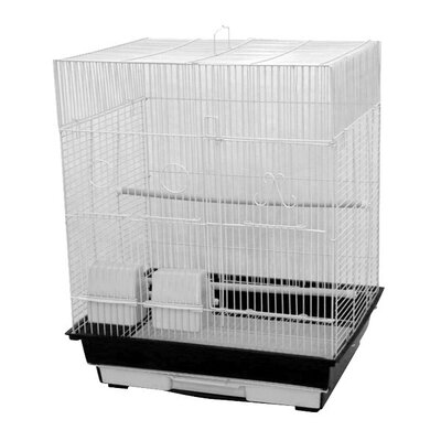 Flat Top Cage Color: Charcoal