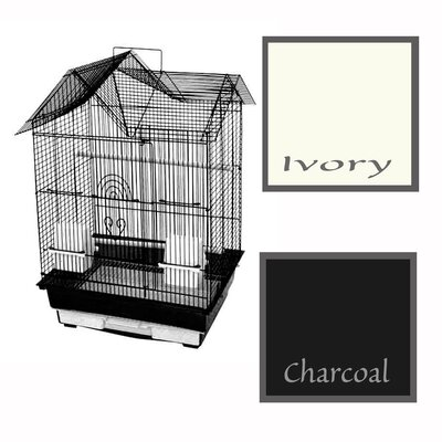 House Top Cage Color: Charcoal