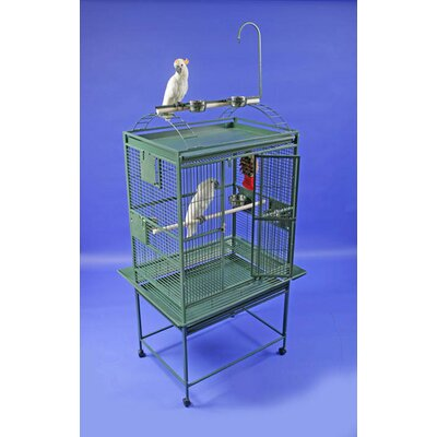 Bayer Large Play Top Bird Cage Color: Green