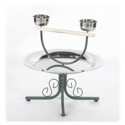 Table Top Play Stand Color: Black