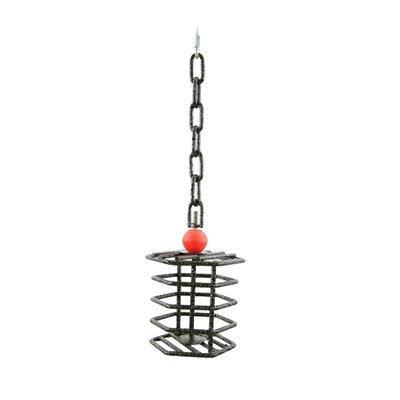 A&E Cage Co. Small Hex Bird Toy Feeder - Color: Black at Sears.com