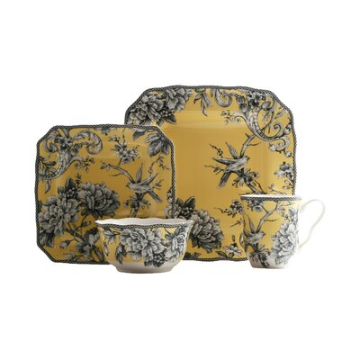 Adelaide 16 Piece Dinnerware Set, Service for 4 1000YL802A1B58