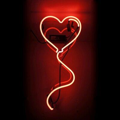 Heart Balloon Neon Sign