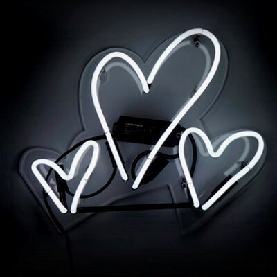 Hearts Neon Sign