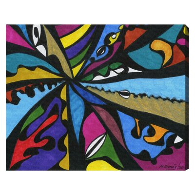 'Requiem' by Manuel Roman Painting Print on Wrapped Canvas Size: 24