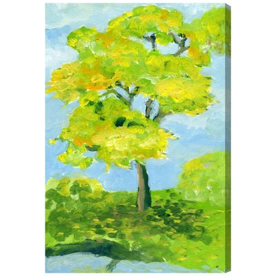 'Primavera' Painting Print on Wrapped Canvas Size: 30