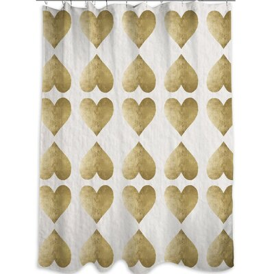 Oliver Gal Home Love Game Shower Curtain