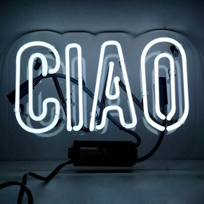 Ciao Neon Sign