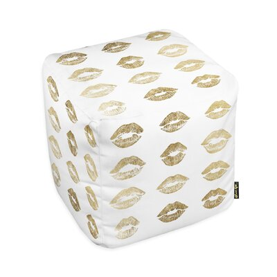 Oliver Gal Home Kisses Pouf