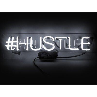 Oliver Gal Hustle Sign