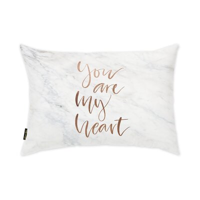 You Are My Heart Lumbar Pillow