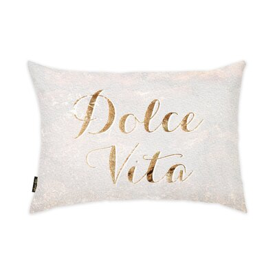 Dolce Vita Lumbar Pillow