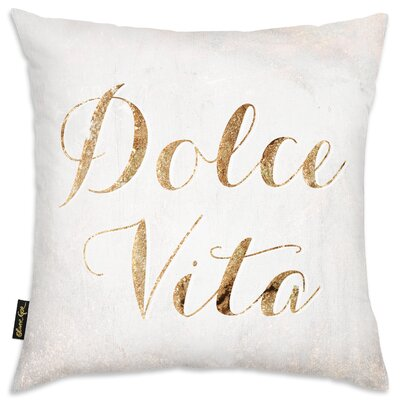 Dolce Vita Throw Pillow
