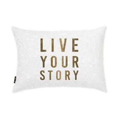 Live Your Story Lumbar Pillow