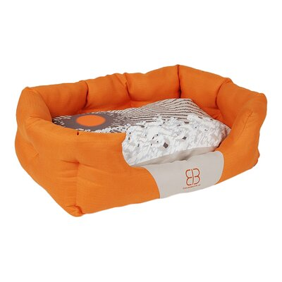 Sun Blossoms Bolster Dog Bed Size: Medium (23 L x 15 W)