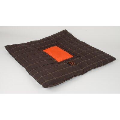 Waffle Dog Pillow Size: Medium (31.5 L x 31.5 W)