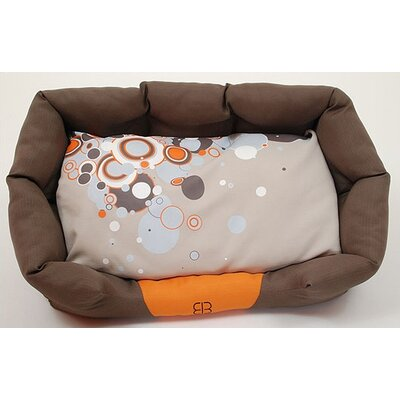 Sparkling Dream Bolster Dog Bed Size: Large (29 L x 19 W)
