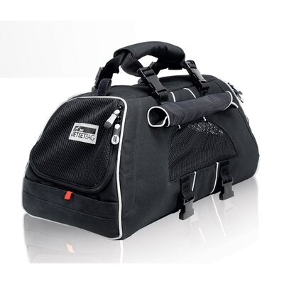 Jet Set Pet Carrier Size: Medium (10.6 H x 10.6 W x 19.7 L), Color: Black