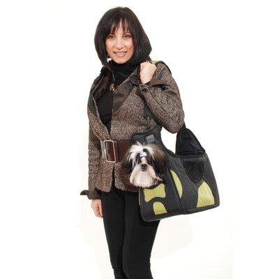 Boby Bag Pet Carrier Color: Black/Green
