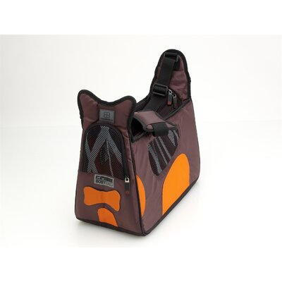 Boby Bag Pet Carrier Color: Brown/Orange