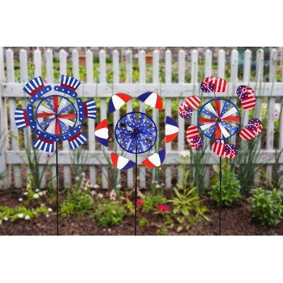 Patriotic 3 Piece Petal Spinner Set 56361