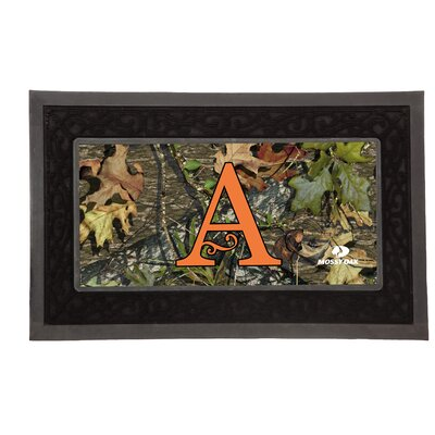 Sassafras Monogram Switch Doormat Letter: A
