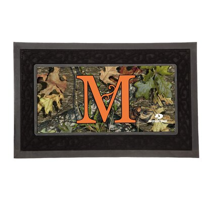 Sassafras Monogram Switch Doormat Letter: M