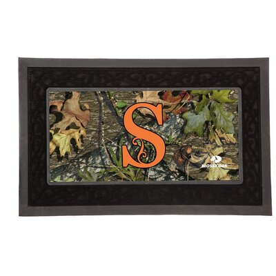 Sassafras Monogram Switch Doormat Letter: S