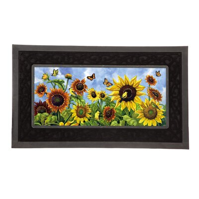 Sassafras Sunflower Field Switch Doormat