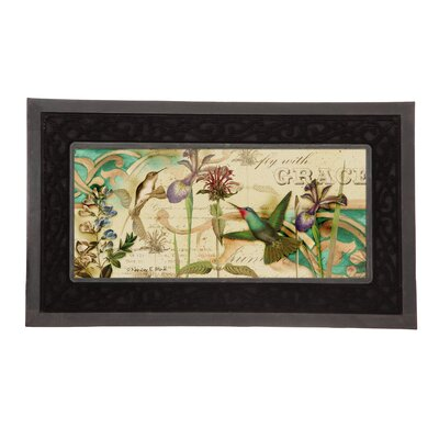 Sassafras Hummingbird Switch Doormat