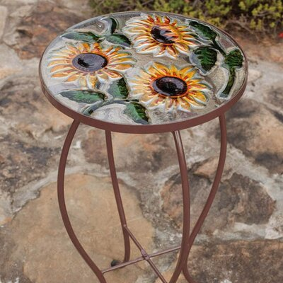 Sunflowers End Table