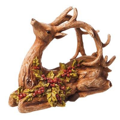 reindeer decoration statue