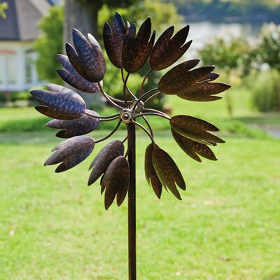 Bloom Kinetic Garden Stake