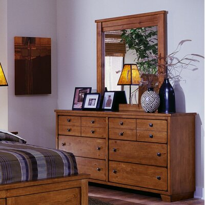 Reimer 12 Drawer Dresser with Mirror