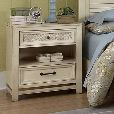 Progressive Furniture Haven 2 Drawer Nightstand