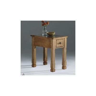 Rustic Ridge Chairside Table